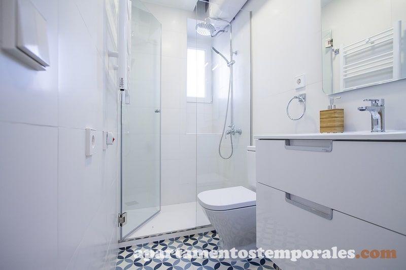 Baño apartamento Latina Madrid