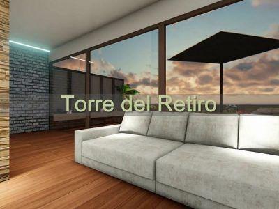 Proyecto de Arquitectura Madrid Torre del Retiro Infografia